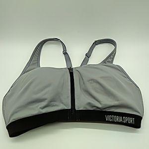 Victoria secret sports bra gray 32C pre owned